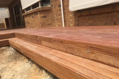 Timber Decking With Led Lights Golden Grove